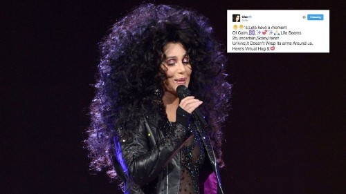 I communicated like Cher for the day and people didn't know what to make of it