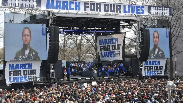 Emma Gonzalez's March For Our Lives speech will go down in history