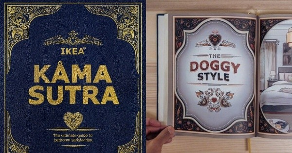 Ikea just released their own version of 'Kama Sutra' and it's getting hot in here - Culture
