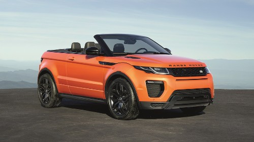 Range Rover's Evoque Convertible lets the elements come to you