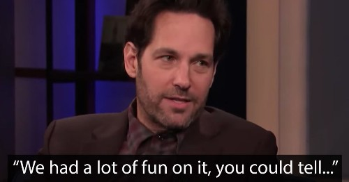 Paul Rudd trolls Conan with a 'clip' from his latest show and no, the joke won't ever get old
