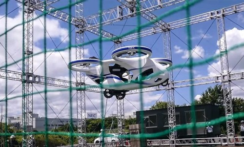 Watch: This Japanese Flying Car Looks Straight Out Of A Sci-Fi Movie!