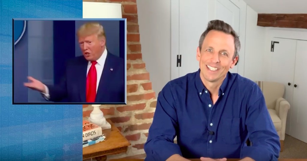 Watch Seth Meyers' fiery breakdown of how Trump's coronavirus failure exposes a broken government