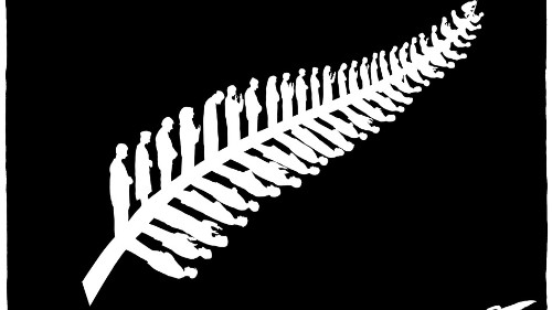 New Zealand's silver fern redrawn as Muslims praying gets plenty of online attention
