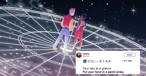 Co – Star's absurd push notification inspired the most dramatic meme