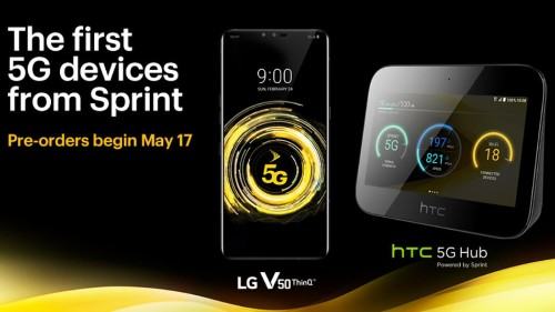 Sprint to start selling 5G version of LG V50 very soon