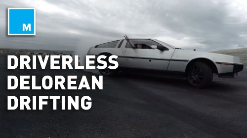 Engineers taught this driverless DeLorean to drift and it could make future autonomous vehicles safer - Tech