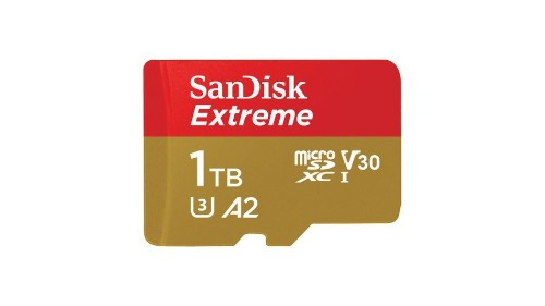 You can now buy a 1TB microSD memory card