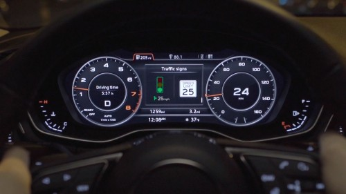 New Audi feature helps drivers catch more consecutive green lights