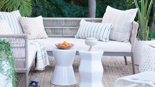 Grills, patio furniture, and more are up to 35% off during Walmart's DIY & Done sale