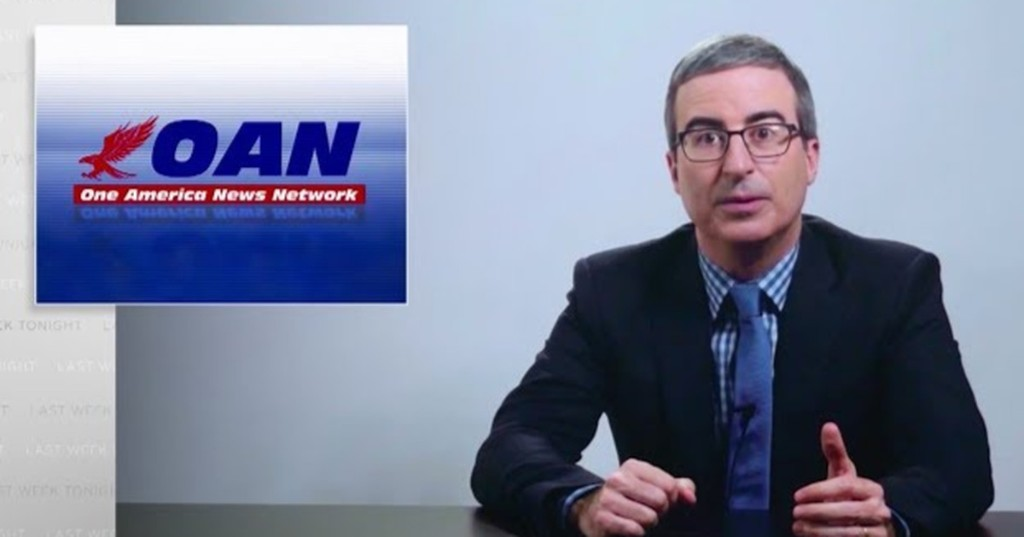 John Oliver's deep dive into One America News Network is scary, scary stuff