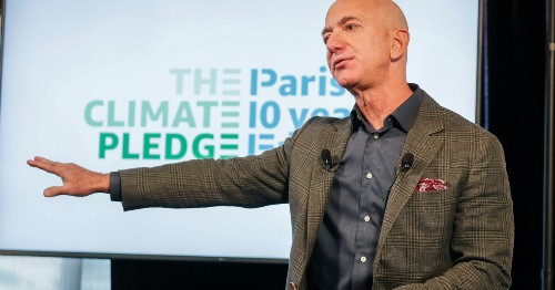 Jeff Bezos commits a cool $10 billion to fight climate change