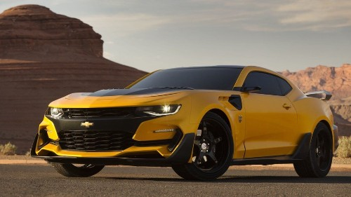 Michael Bay tweets picture of new 'Transformers' Bumblebee
