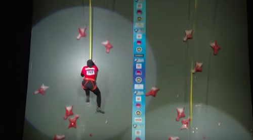 Watch The Real-Life Spider-Woman Smash A Speed-Climbing World Record In Under 7 Seconds