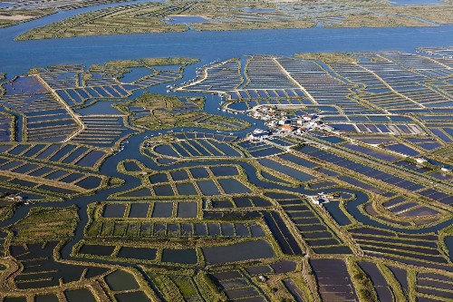 Stunning aerial photos of the world's aquaculture operations