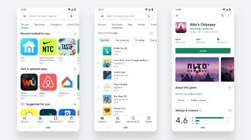 Google Begins Rolling Out Material Design Inspired Play Store Revamp To All Android Users