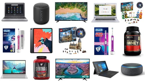 Apple iPads, LG 4K TVs, Amazon devices, LEGO sets, Sony speakers, and more on sale for July 18 in the UK