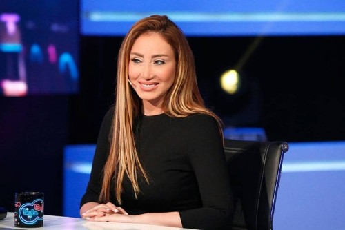 "Egyptian TV host, Riham Saeed has been suspended for insulting comments about ""fat"" people"