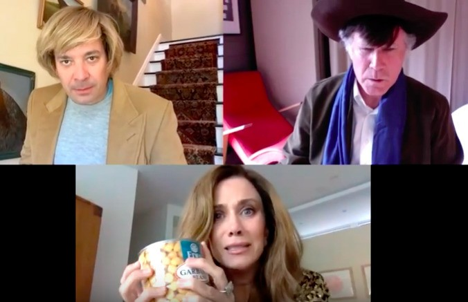 Will Ferrell, Kristen Wiig And Jimmy Fallon Crack Themselves Up In Video Chat Soap Opera Sketch
