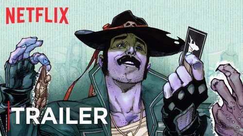 Netflix and Mark Millar's new comic book trailer is here and nope, it isn't an animated series