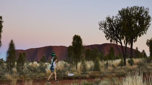 Australia's Uluru is so sacred it's tricky to photograph. This is how Google brought it to Street View.