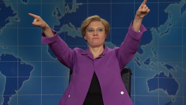 The inevitable 'SNL' joke about Elizabeth Warren's BDSM 'scandal' delivered