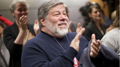 Steve Wozniak: In the future, robots will keep humans as pets