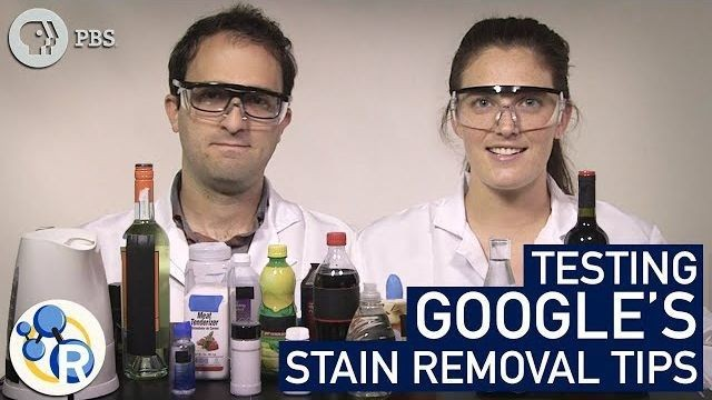 Are Google results for removing stains actually helpful? These chemists found out.