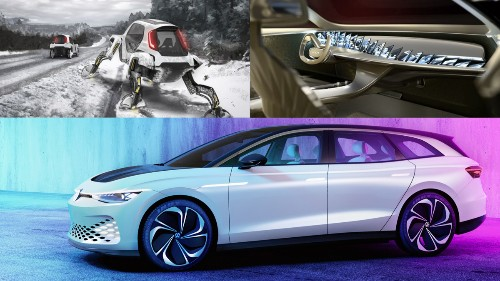 These are 2019's most bizarre concept cars - Tech