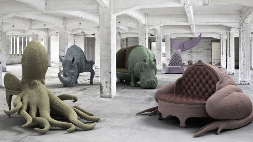 Kick your feet up and relax in these insanely expensive animal chairs