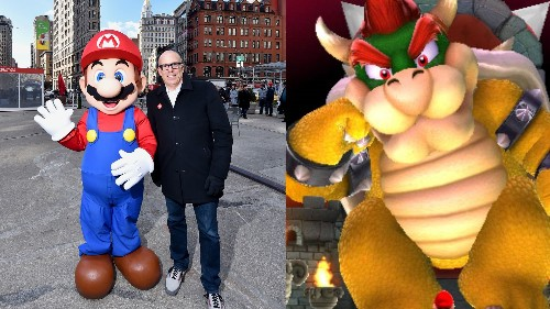 Congrats to Bowser, the next President of Nintendo of America