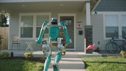 Ford is testing a two-legged delivery robot that brings parcels to your doorstep