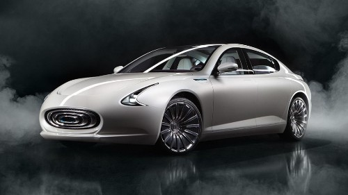 The Thunder Power Sedan is a futuristic Tesla-fighter from Taiwan