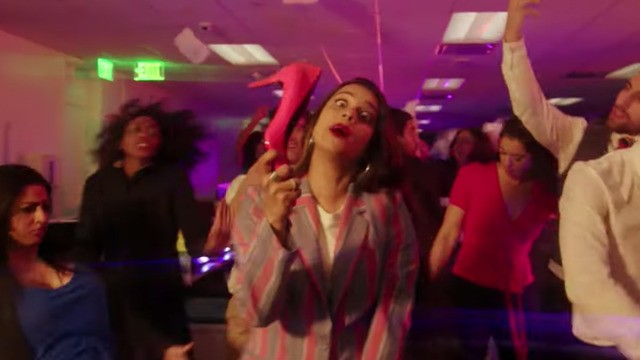 Lilly Singh's feminist music video slays the late night stereotypes on the first 'A Little Late'