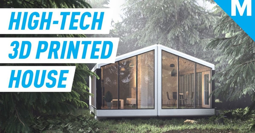 These self-sustaining 3D printed houses generate their own electricity and water