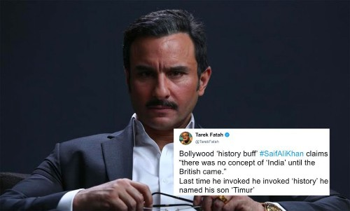 Saif Ali Khan's 'No Concept Of India Before The British' Comment Expectedly Offends Some People - Entertainment