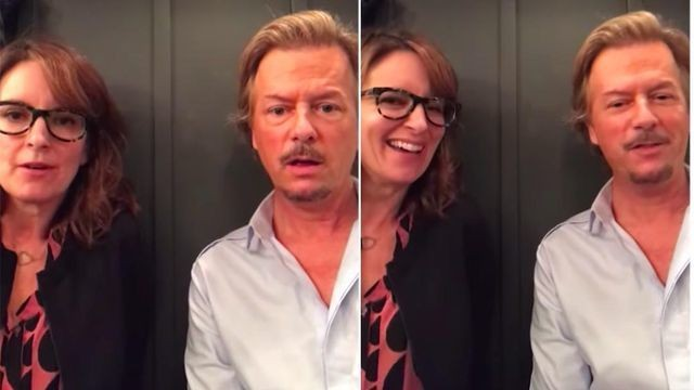 Tina Fey tells David Spade which popular movie she has no intention of ever watching