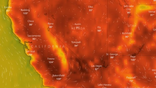 California just had its hottest month on record, and that means more wildfires