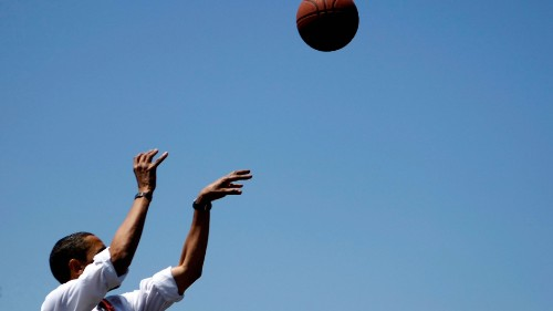 Barack Obama's annual March Madness brackets are here ... but people just want him to come back