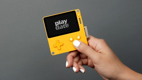 Playdate is one very adorable handheld gaming system