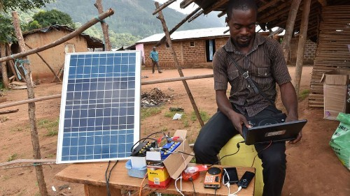 How solar energy and mobile money are changing lives in rural Africa