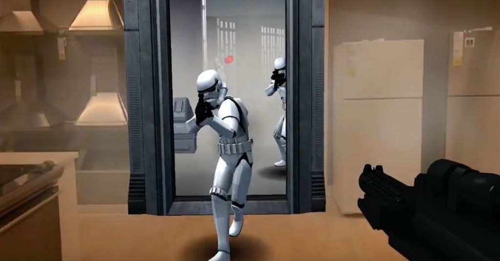 Star Wars in augmented reality lets you fight the First Order in real life