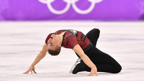 Adam Rippon's 'joy skate' to Ben Platt's cover from 'The Politician' will end you