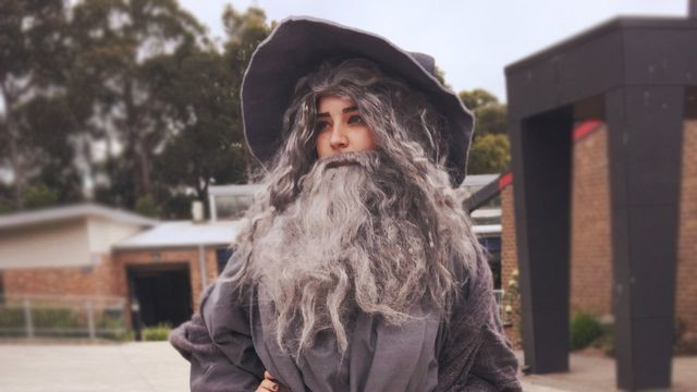 Tumblr geeks are losing it over a 'Sexy Gandalf' costume