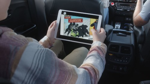 In-car infotainment and driving blur with Honda's 'Dream Drive'