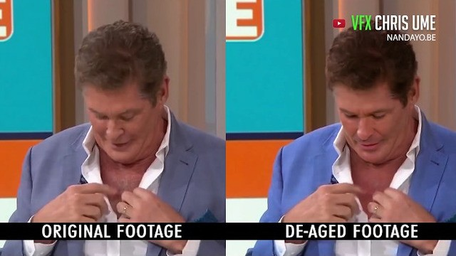 Watch David Hasselhoff de-age in this incredible deepfake