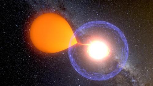 Star caught exploding after long hibernation