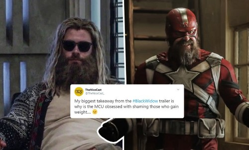 First Thor, Now Red Guardian In 'Black Widow'. Internet Thinks Marvel Is Shaming 'Fat' Superheroes! - Entertainment