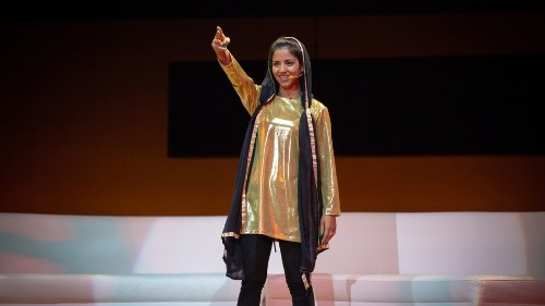 Sonita Alizadeh narrowly avoided being a child bride. Now she raps about ending forced marriage.