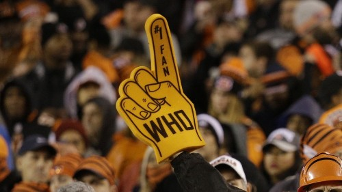 Bengals fan arrested for peeing on man at NFL playoff game
